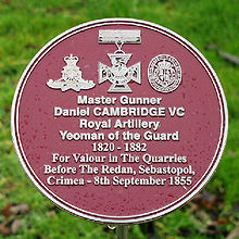 cambridge plaque
