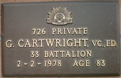 cartwright grave