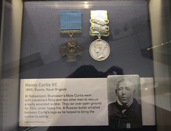 curtis henry vc