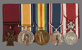 rayfield medals