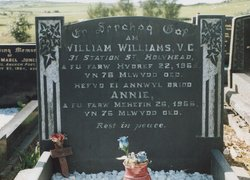 williams w grave