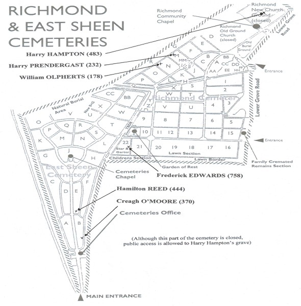 Richmond & East Sheen Cemeteries