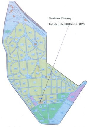 humphreys cemetery plan