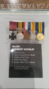 bromley medals
