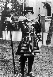 curtis as yeoman of guard