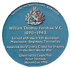 forshaw blue plaque