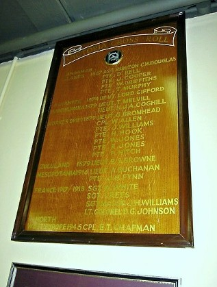 swb museum roll of honour