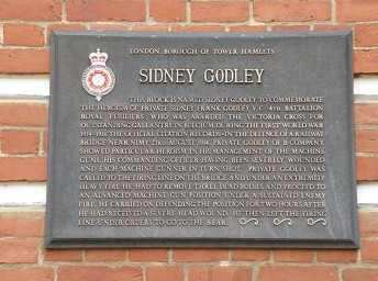 godley vc house digby street tower hamlets