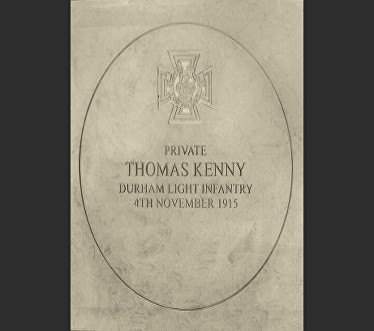 kenny thomas memorial stone