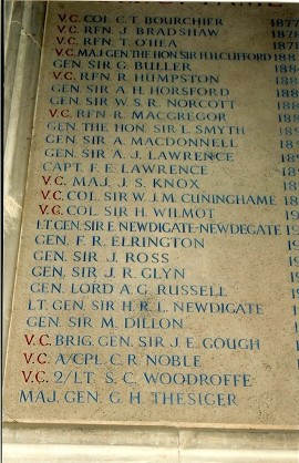 RIFLE BRIGADE ROLL OF HONOUR WINCHESTER CATHEDRAL