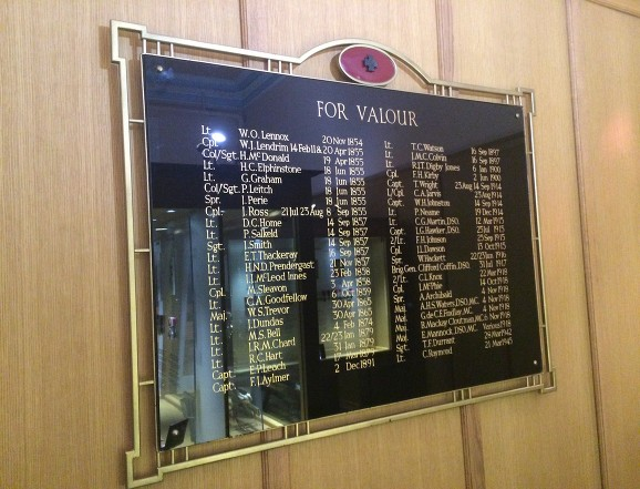 r.e roll of honour board