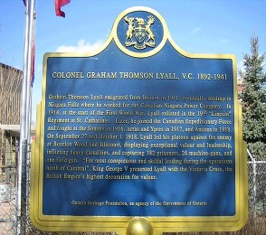 st catherines ontario plaque