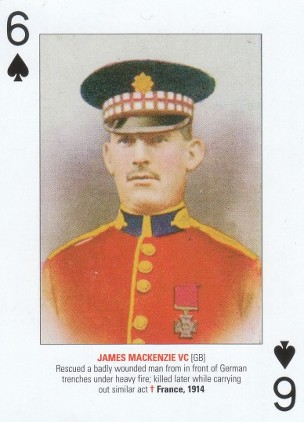 MACKENZIE PLAYING CARD