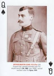 MARTIN LEAKE PLAYING CARD