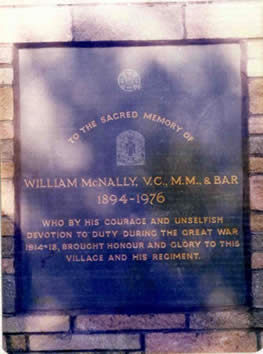 murton war memorial plaque