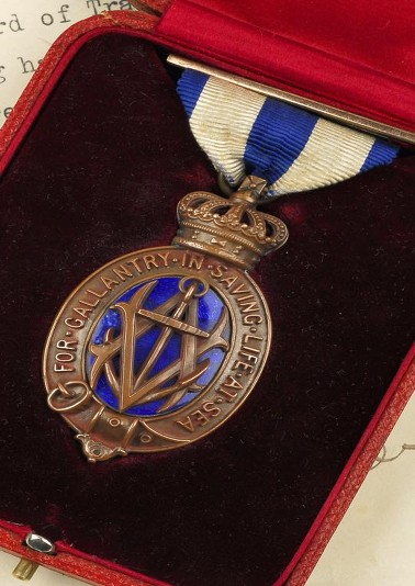 wooding medal