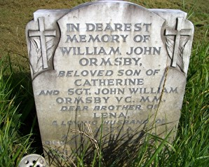 ormsby family grave