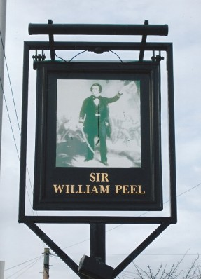 sir william peel pub sandy bedfordshire