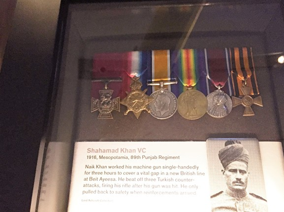 shahamad khan medals