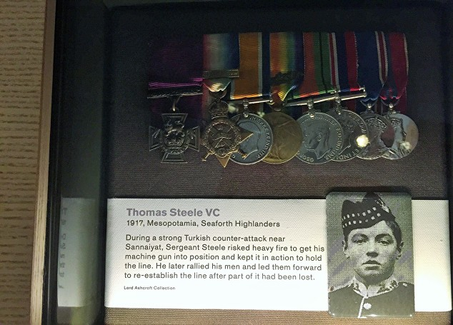 steele medals