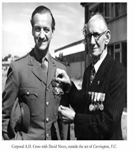 cross vc with david niven