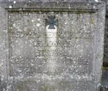 buller grave close up