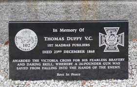 duffy t plaque