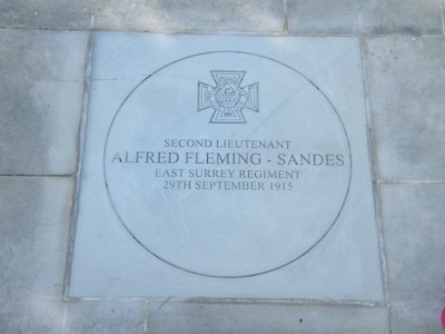 fleming-sandes memorial stone streatham