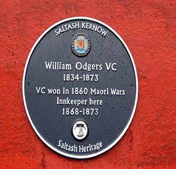 odgers blue plaque