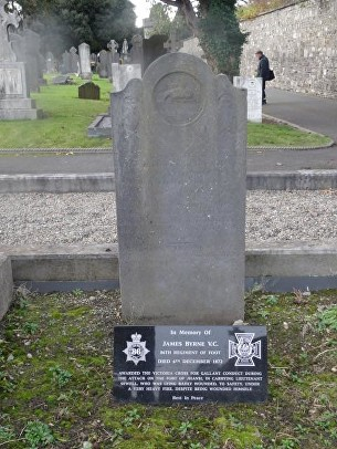 byrne james dublin grave