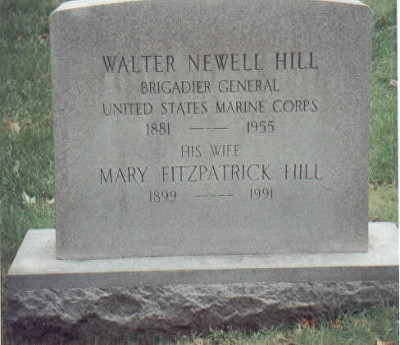 hill walter n grave