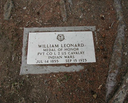LEONARD WILLIAM GRAVE
