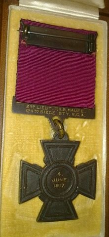 maufe vc medal peter maufe