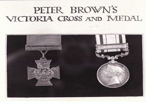 brown p medal group