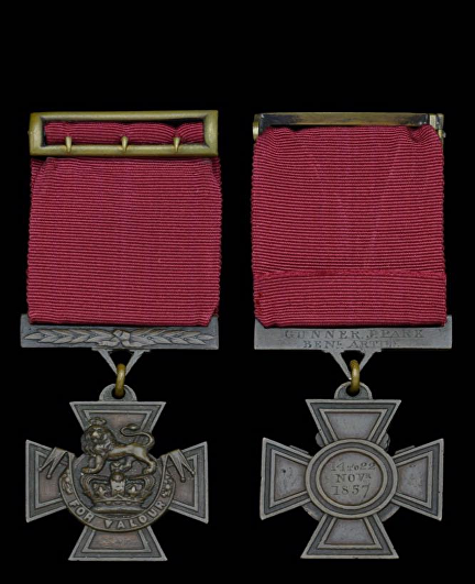park james medal front and back