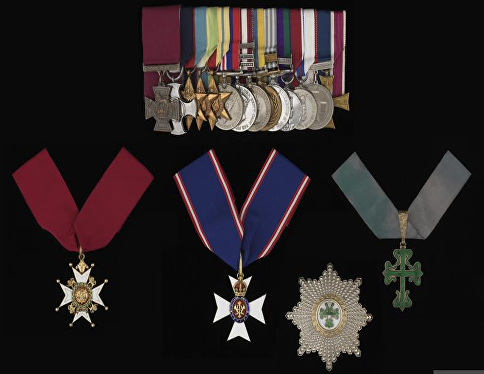 place medals