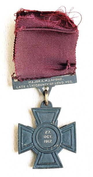 lafone medal reverse