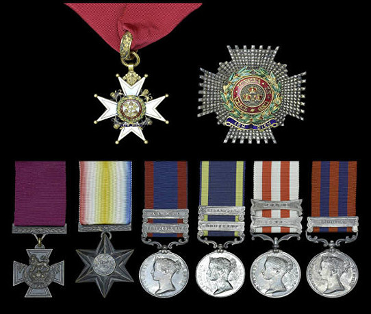 tombs h medal group
