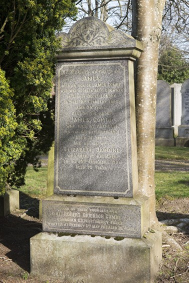 combe family grave aberdeen