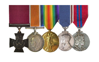 halliwell medal group