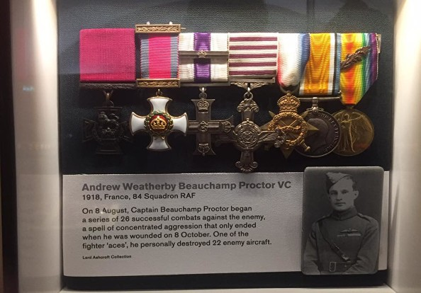beauchamp proctor medals ts