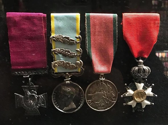 lyons vc medals as