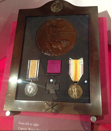 wain medals tank museum