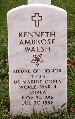 WALSH K A GRAVE