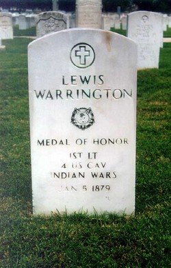 warrington grave