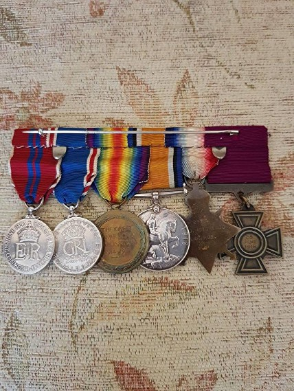 HUTCHINSON VC MEDALS REVERSE