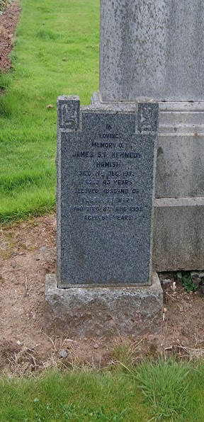 KENNEDY GC GRAVE
