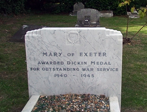 mary of exeter grave